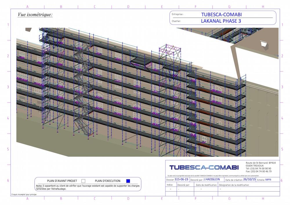 37500 m d chafaudages pour restaurer le lyc e lakanal le blog tubesca comabi. Black Bedroom Furniture Sets. Home Design Ideas